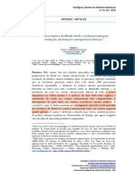SATO, E. Política Externa desde a Redemocratização