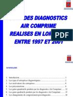 Rapport de Suivi Des Diagnostics Air Comprirmé ADEME