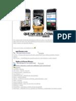 cydia y sus aplicaciones