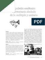 El poliedro académico universitario símbolo de lo múltiple y unitario 3 pags