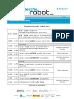 Programa Desaf¡o robot 2011
