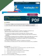 Estácio_ Alunos AVALIAÇÃO AUDITORIA DE SISTEMAS