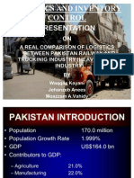 Transport sector of pakistan