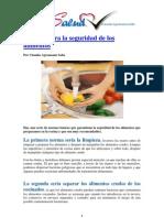 Normas Para La Seguridad de Los Alimentos
