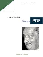 341089111 Heidegger Martin Serenidad PDF
