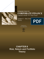 Chapter 8 - Risk, Return, and Portfolio Theory