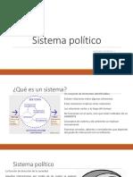 SISTEMA POLÍTICO Y CAMPO POLÍTICO