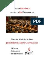 DOSSIER BANDA SINFÓNICA MSF