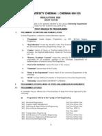 PG Regulation R2009  UD