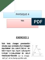 Physique 4 Td1
