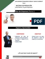 MP-EL PLAN DE EMPRESA (Parte I)