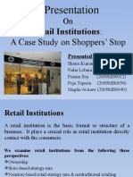 A Presentation on retailing