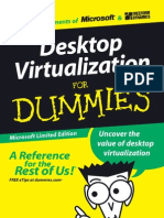 Desktop virtualization for dummies