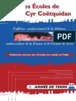 Plaquette Saint Cyr Coetquidan