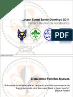 Reunion de Apoderados Grupo Scout Santo Domingo (Abril)