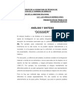 1ra Exposicion GRUPO 1 Analisis y Sintesis