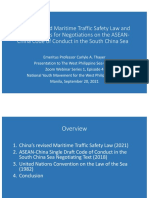 China's Revised Maritime Traffic Law