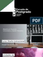 PPT Diseño Instruccional -Semana 1