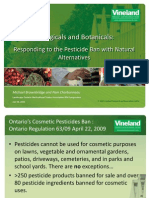 Bogus Alternatives OntarioPesticideBanBiologicals_and_Botanicals_Dr_Michael_Brownbridge
