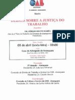 Palestras OAB Araraquara