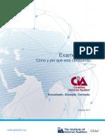 CIA Exam Syllabi Changes Handbook Spanish
