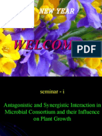 Antagonistic and Synergistic effects of microbs