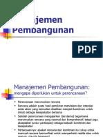 1-Definisi Manajemen Pembangunan