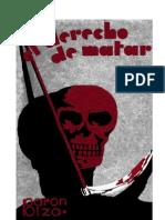 BARON BIZA - El Derecho de Matar _primera edición_