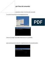 Configurar Nic por línea de comandos