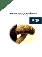 Prirucnik o gajenju Shiitake gljiva