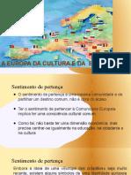 A EUROPA DA CULTURA E DA EDUCAÇÃO. pptx