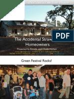 S.F. Green Festival Straw Bale Presentation