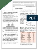 Lista de exercicios 19 -  Fisica I Calorimetria I_Int