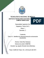 TAREA 10- TIPOS DE COMUNICACION