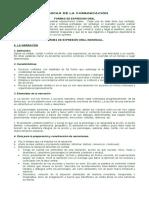 FORMAS DE EXPRESION ORAL DOCUMENTO COMPLETO