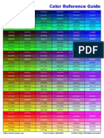 Color Quick Reference Guide