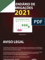 Calendário de Obrigações Fiscais OFICIAL