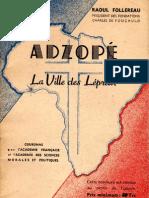 Adzope, ville de la charité française par Raoul Follereau