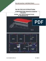 Memoria de Cálculo Estructural -Hualgayoc Final