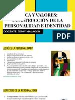 Etica y Valores_ Construcción de La Personalidad