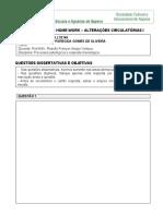 5. ALTERAÇÃO CIRCULATORIA I - HOME WORK -  CARTÃO DE RESPOSTAS  JAQUE2