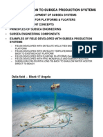 L01 - INTRODUCTION TO SUBSEA PRODUCTION
