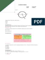 Uh Matematika Lingkaran