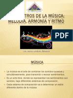 Parametros de la musica