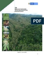 Restauración ecológica. DOCUMENTO BORRADOR COSTOS UNITARIOS A 2020 EDITADO MA