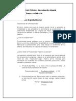 Criterios de evaluación integral