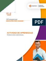 Actividad de Aprendizaje 3 - Producción Audiovisual 2021_1