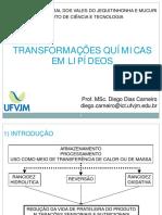 Aula_4 - Transformações Químicas em Lipídios