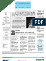 Newsletter - April 1, 2011