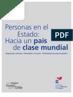 Personas en El Estado. Hacia un País de Clase Mundial (Consorcio para la Reforma del Estado)